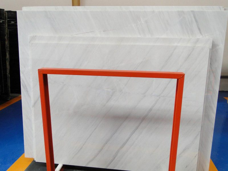Persian White Crystal Marble Slab