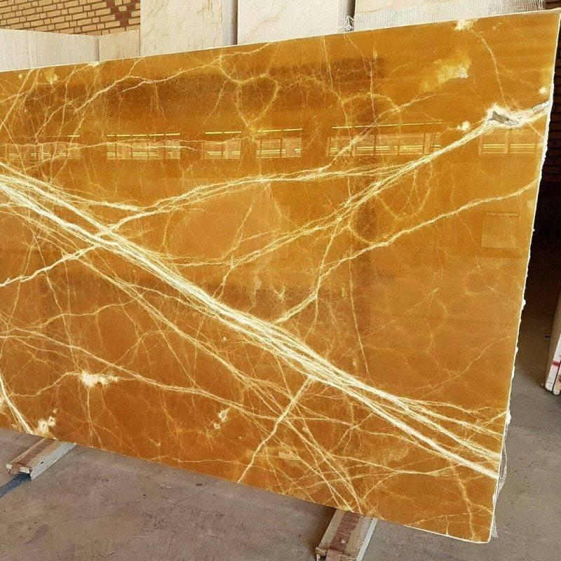 Amber Onyx Slabs : Onyx amber slab marble e market