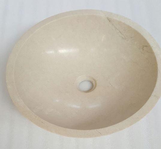Persian Marfil Marble Basin